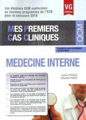 Médecine interne - vernazobres grego - 9782818314531 -