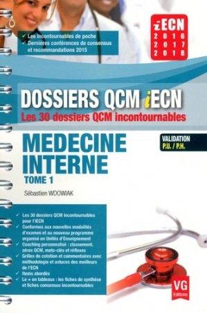 Médecine interne tome 1 - vernazobres grego - 9782818314852 -