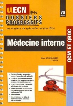 Médecine interne - vernazobres grego - 9782818314883 -