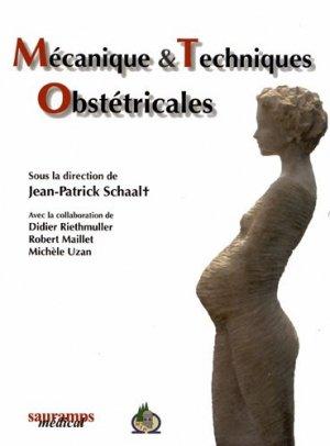 Mécanique et techniques obstétricales - sauramps medical - 9782840238218
