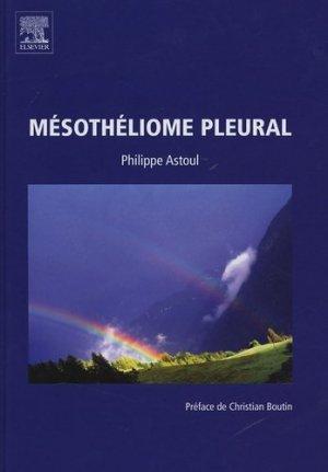 Mésothéliome pleural - elsevier / masson - 9782842994372 -