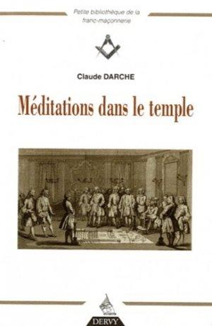 Méditations dans le temple - Dervy - 9782844549228 -