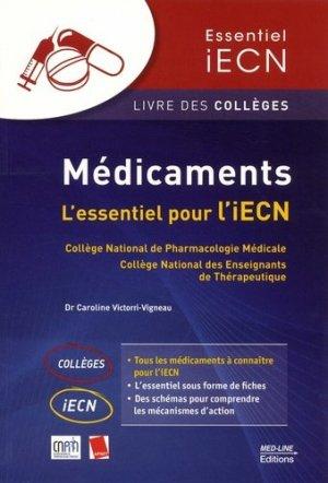 Médicaments - med-line - 9782846782241 -