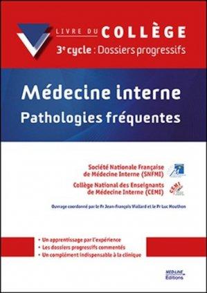 Médecine interne - Pathologies fréquentes - med-line - 9782846782333 -