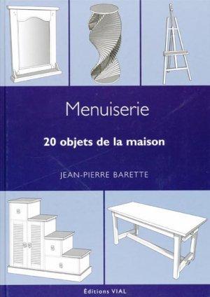 Menuiserie 20 objets de la maison - vial - 9782851011329 -
