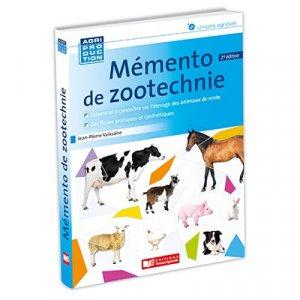 Mémento de zootechnie - france agricole - 9782855575391 -