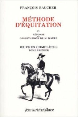 Méthode d'équitation - jean michel place - 9782858931071 -