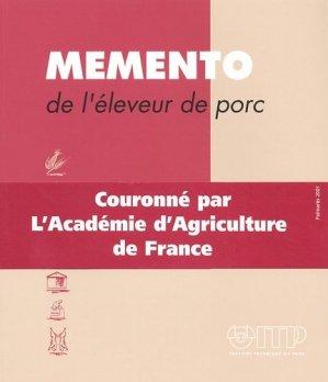 Mémento de l'éleveur de porc - itp - 9782859691264