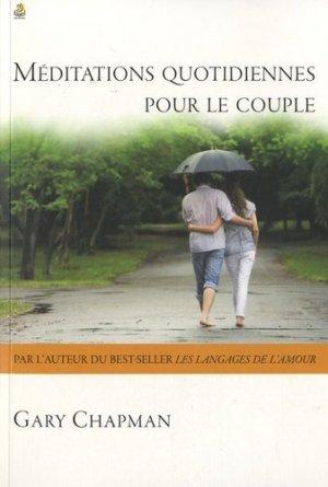 Méditations quotidiennes pour le couple - Farel éditions - 9782863144114 -