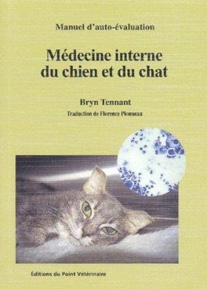 Médecine interne du chien et du chat - du point veterinaire - 9782863261583 -