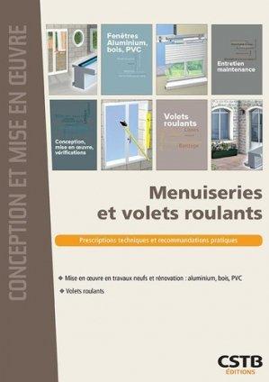 Menuiseries et volets roulants - cstb - 9782868916983 -