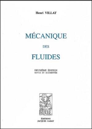 Mécanique des fluides - jacques gabay - 9782876472242 -