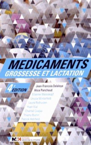 Médicaments grossesse et lactation - medecine et hygiene - 9782880493776 -
