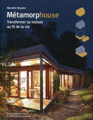 Métamorphouse - presses polytechniques et universitaires romandes - 9782889150601 -