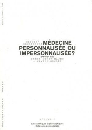 Médecine personnalisée ou impersonnalisée  vol 2-planete sante-9782889410453
