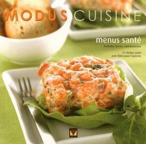 Menus santé - Modus Vivendi - 9782895237075 -