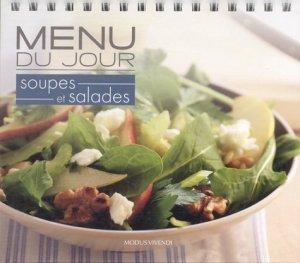 Menu du jour Soupes et salades - Modus Vivendi - 9782895237310 -