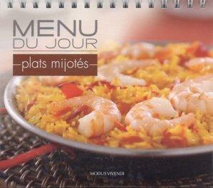 Menu du jour Plats mijotés - Modus Vivendi - 9782895237327 -