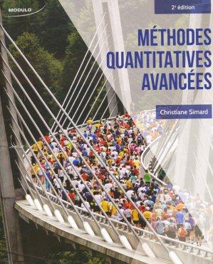 Méthodes quantitatives avancées - modulo (canada) - 9782897320034 -