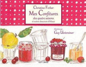 Mes confitures des quatre saisons - Est Libris - 9782909449722 -