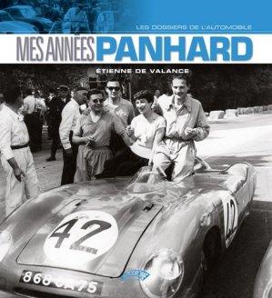 Mes années Panhard - l'autodrome - 9782910434557 -