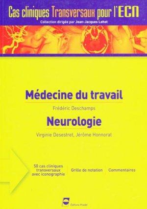 Médecine du travail - Neurologie - pradel - 9782913996533 -