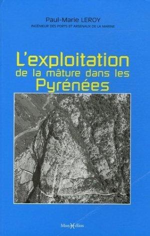 Mémoire sur les travaux qui ont rapport à l'exploitation de la mâture dans les Pyrénées - monhelios - 9782914709347 -