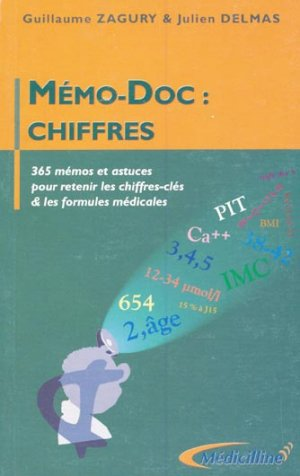 Mémo-doc : chiffres - medicilline - 9782915220001 -