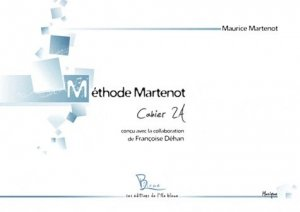 Méthode Martenot - Editions de l'île bleue - 9782917992036 -