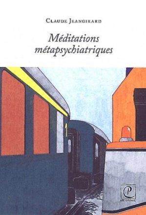 Méditations métapsychiatriques - petite capitale - 9782918205067 -