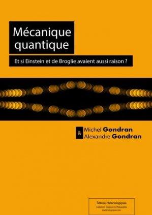 Mécanique quantique - materiologiques - 9782919694686 -