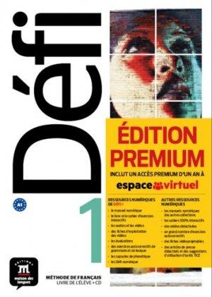 Méthode de français Défi 1 A1 - Difusión Centro de Investigación y publicaciones de idiomas - 9788417249694 -