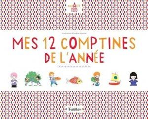 Mes 12 comptines de l'année - Tourbillon - 9791027602940 -
