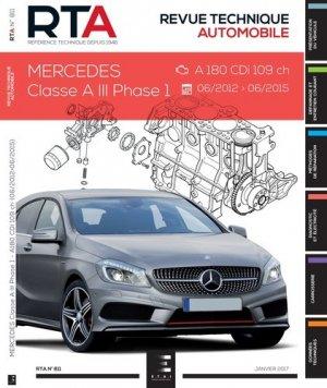 Mercedes Classe A III Ph.1 - etai - editions techniques pour l'automobile et l'industrie - 9791028306069 -