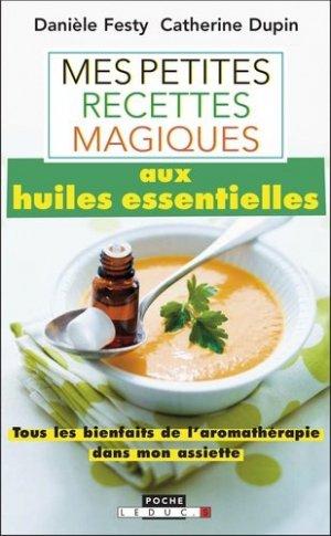 Mes petites recettes magiques aux huiles essentielles - leduc - 9791028501303 -