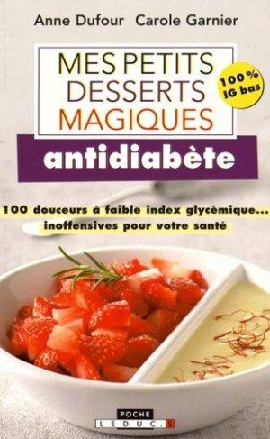 Mes petits desserts magiques antidiabète - leduc - 9791028501310 -