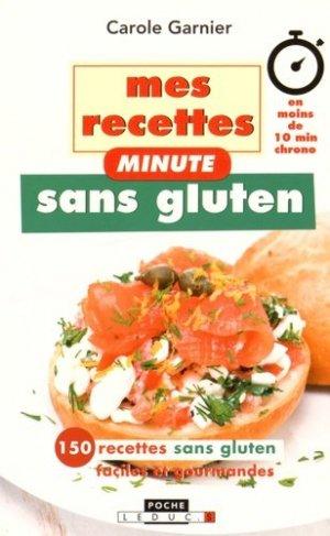 Mes recettes minute sans gluten - leduc - 9791028501730 -