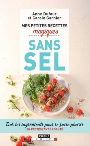 Mes petites recettes magiques sans sel - leduc - 9791028509651 -