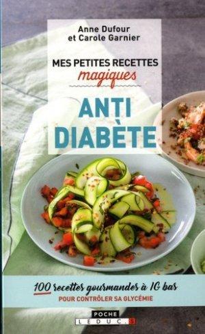 Mes petites recettes magiques antidiabète - leduc - 9791028510633 -