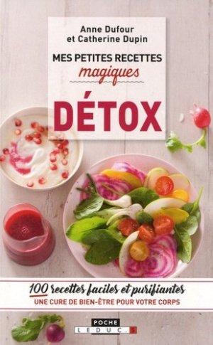 Mes petites recettes magiques détox - leduc - 9791028510671 -