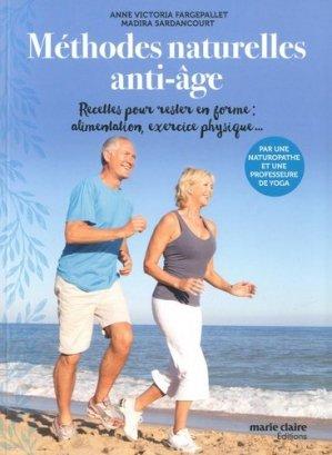 Méthodes naturelles anti-âge - marie claire - 9791032303863 -