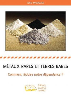 Métaux rares et terres rares - Editions Campus ouvert - 9791090293724 -