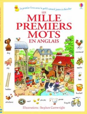 MILLE PREMIERS MOTS EN ANGLAIS  - USBORNE - 9781409570912