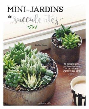 Mini-jardins de succulentes - larousse - 9782035966117 -