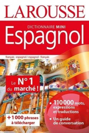 Mini dictionnaire espagnol - Larousse - 9782035974747 -