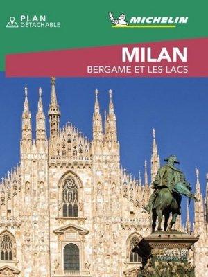 Milan. Bergame et les lacs, Edition 2020, avec 1 Plan détachable - michelin - 9782067245136 -