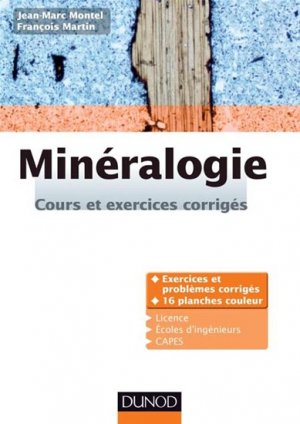 Minéralogie - dunod - 9782100600120 -