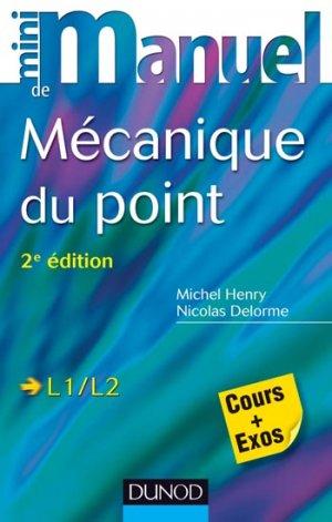Mini Manuel de Mécanique du point - dunod - 9782100710157
