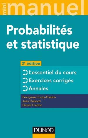 Mini Manuel - Probabilités et statistique - dunod - 9782100780945 -
