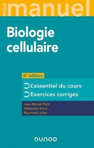 Mini Manuel de Biologie cellulaire - dunod - 9782100800544 -